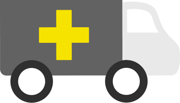 388 Ceda Ambulance Graphic